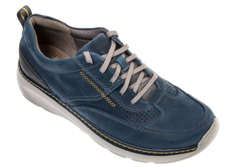 Clarks 26115002  Charton Mix blauw